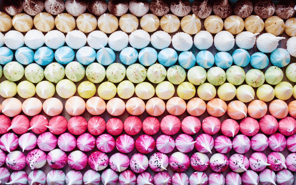 Rainbow Meringue - One - David Loftus Print Shop