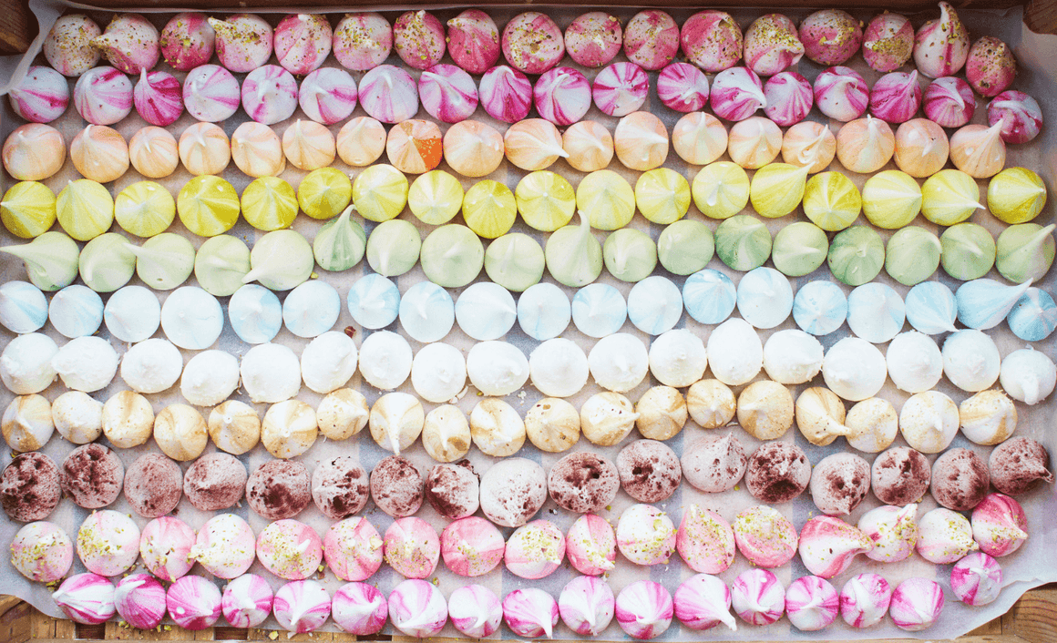 Rainbow Meringue - Two - David Loftus Print Shop