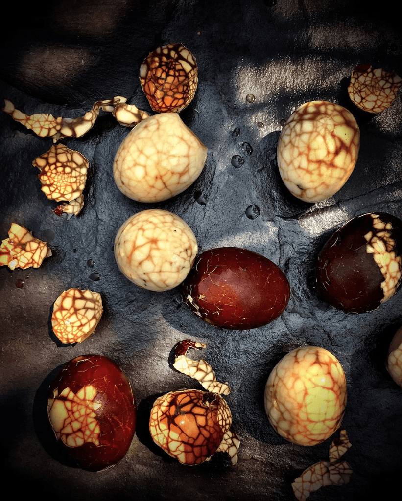 Tea Eggs - David Loftus Print Shop