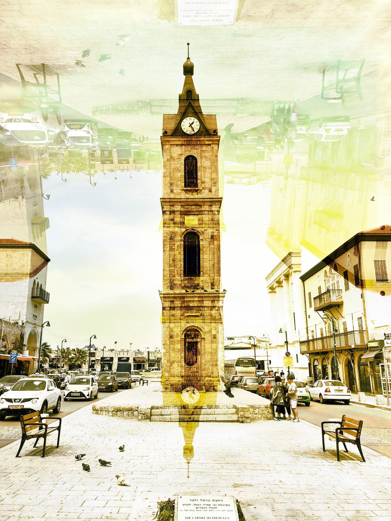 Clocktower of Tel Aviv - David Loftus Print Shop