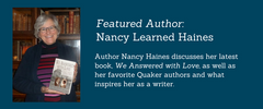 BookMusings Featured Author: Nancy Learned Haines