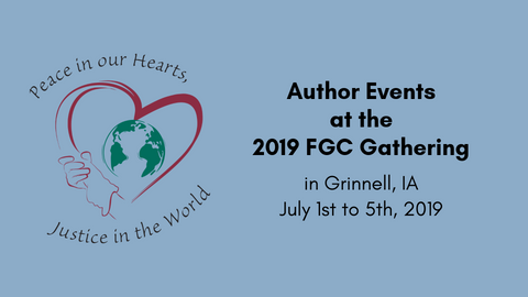 Author Events at the 2019 FGC Gathering