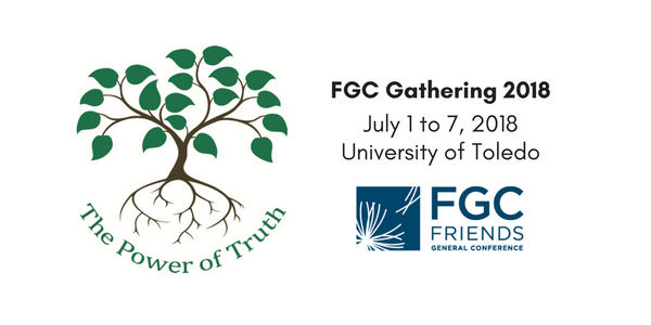 FGC Gathering 2018, July 1 to 7, 2018 at the University of Toledo. Register at FGCGathering.org