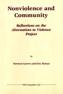 Nonviolence and Community: Reflections on the Alternatives to Violence Project