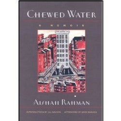 Chewed Water (Hardcover)