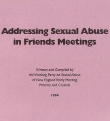 Addressing Sexual Abuse in Friends Meetings