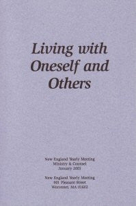 Living with oneself and others