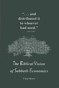 The Biblical Vision of Sabbath Economics (Paperback)