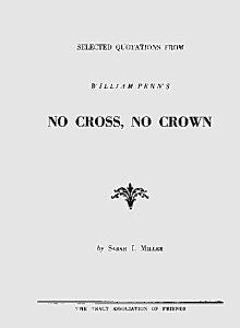 Selected Quotations from No Cross No Crown