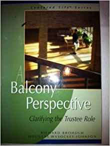 A Balcony Perspective: Clarifying the Trustee Role