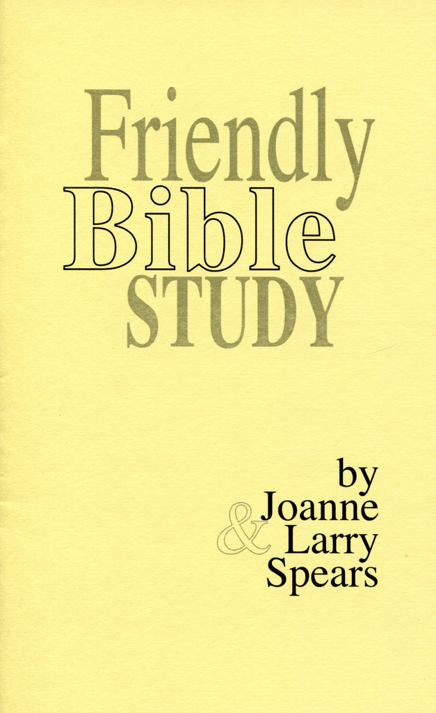 Friendly Bible Study
