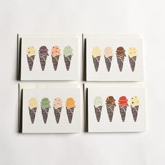 Boxed Note Cards:  Flavors
