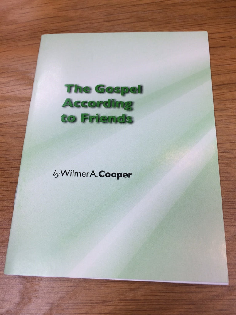 The Gospel According To Friends
