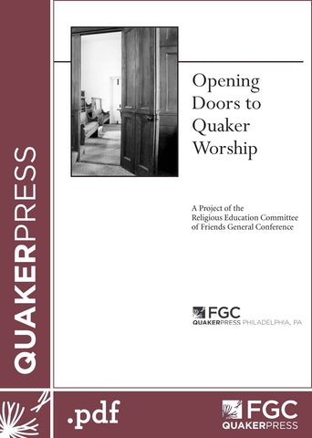 Opening Doors to Quaker Worship (eBook)