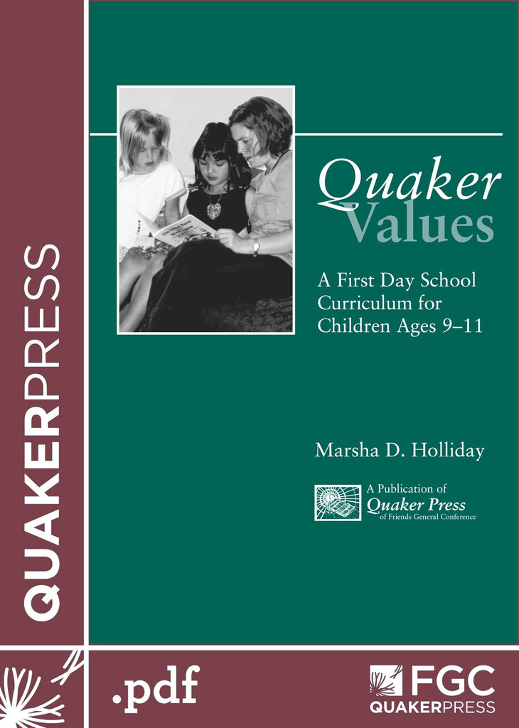 Quaker Values (eBook)