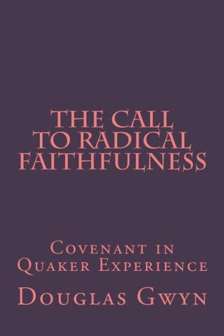 The Call to Radical Faithfulness