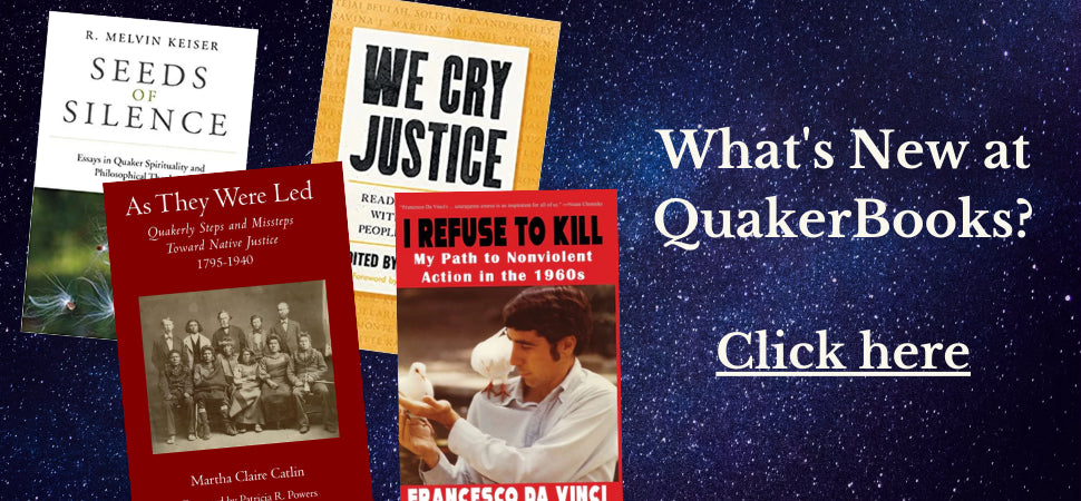 free copy of Plain Living with purchase of three more books. from the meetinghouse Bookshelf Collection