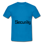 security T - royal blue