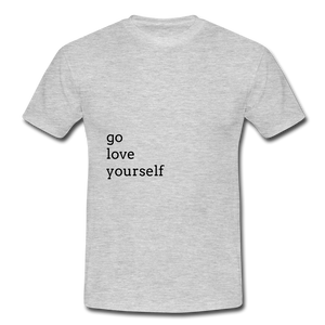 Go Love Yourself - heather grey