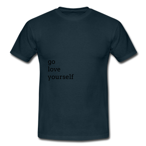 Go Love Yourself - navy