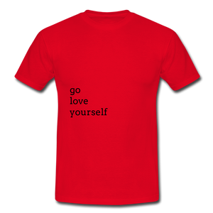 Go Love Yourself - red
