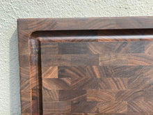 Load image into Gallery viewer, Walnut end grain cutting board made in San Francisco, CA.  Mac Cutting Boards sourced all the woods in the United States.