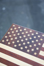 Load image into Gallery viewer, American Flag Cutting Board