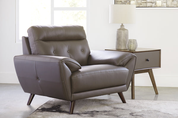 Fauteuil en cuir combiné - Ashley Furniture - 3460320