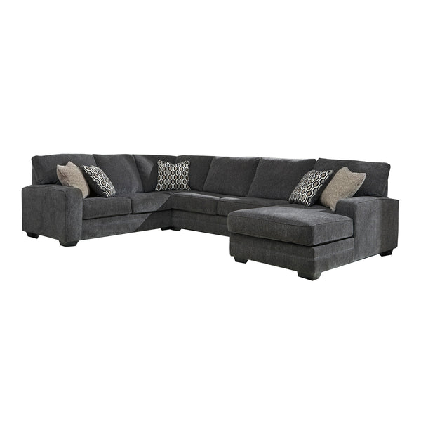 Sectionnel chaise longue en tissus - Ashley Furniture - 72600