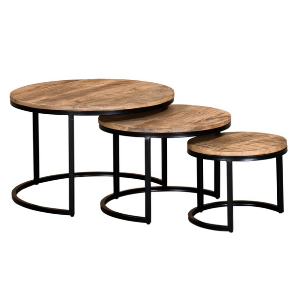 Tables de centre gigognes - Worldwide - 004784