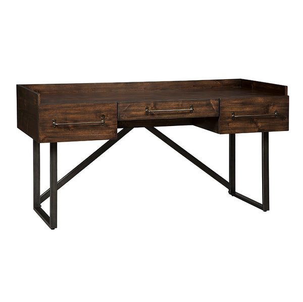"Bureau de travail 63"" industriel Starmore - Ashley - H633-27"