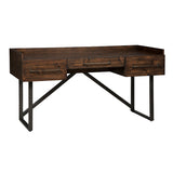 "Bureau de travail 63"" industriel Starmore - Ashley H633-27"