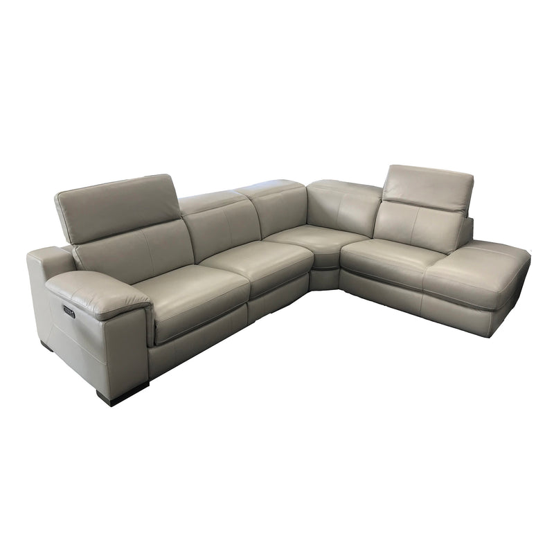 Sectionnel inclinable en cuir - HTL - 002568