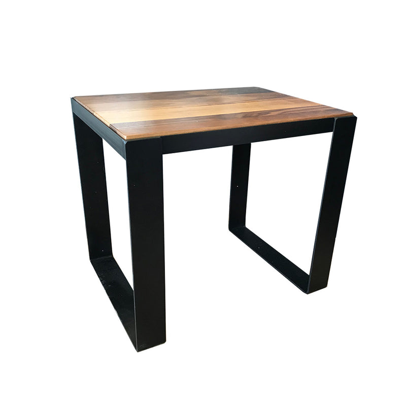 Table de bout noyer - Forge Design - 003590