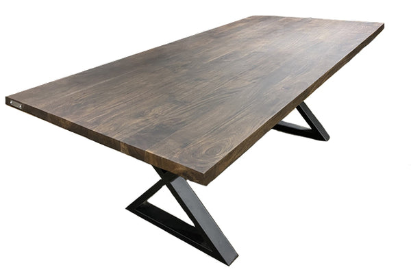 Table de cuisine en Acacia Walnut 19- Enora - 900168