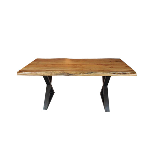 "Table de cuisine en Acacia 2 1/4"" - Corcoran - 000932"