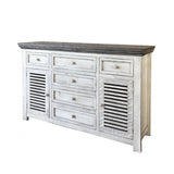 Buffet bois massif - International Furniture Direct - 003444