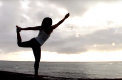 Beach Sunset Yoga Hawaii a Spiritual Experience