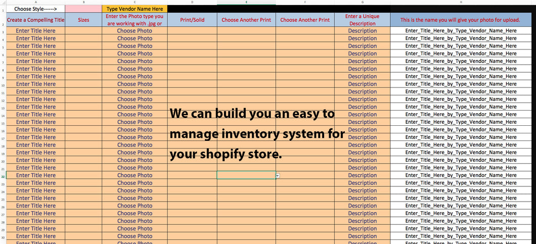 Shopify Dropship Inventory Product Management Development for your Shopify Store
