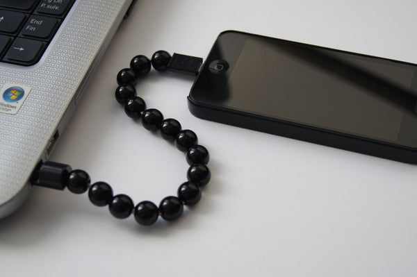 iPhone Charger Beaded Bracelet