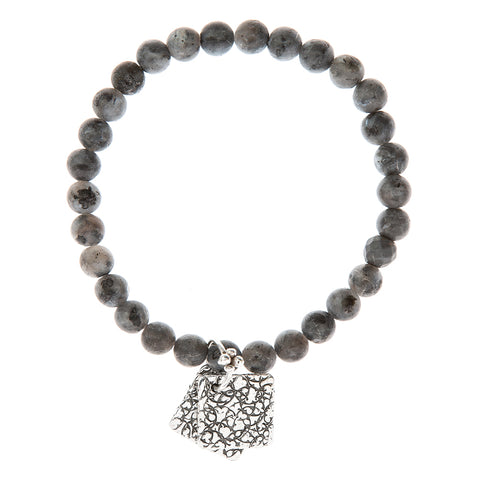 BBT22SS-SB | PERFECT GREY AND BLUE BRACELET