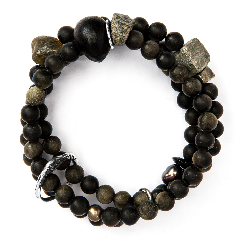 BBT20-O BLACK TREASURE BRACELET | STUDIO SUZAN