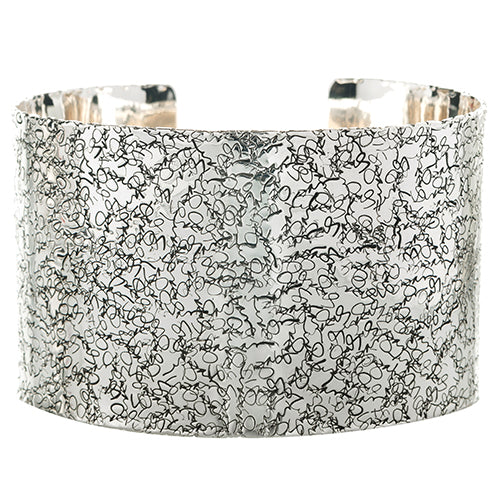 BC93B-C | HAND SIGNED STERLING SUZAN CUFF