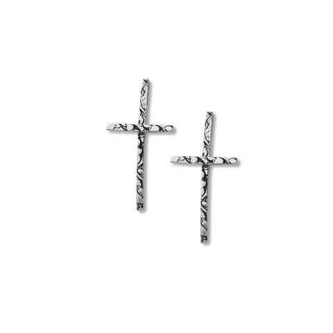 NCHCR7-A | HAMMERED CROSS | STUDIO SUZAN