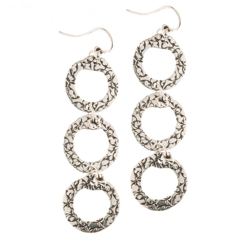 EFL83 TRIPLE STERLING LOOPS | STUDIO SUZAN
