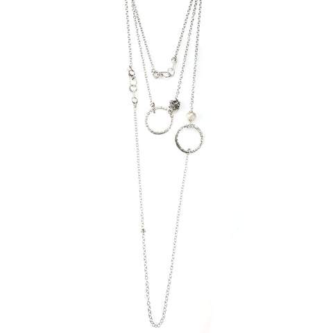 NCHLO1 | CIRCLE OF FAITH OR LOVE NECKLACE | STUDIO SUZAN