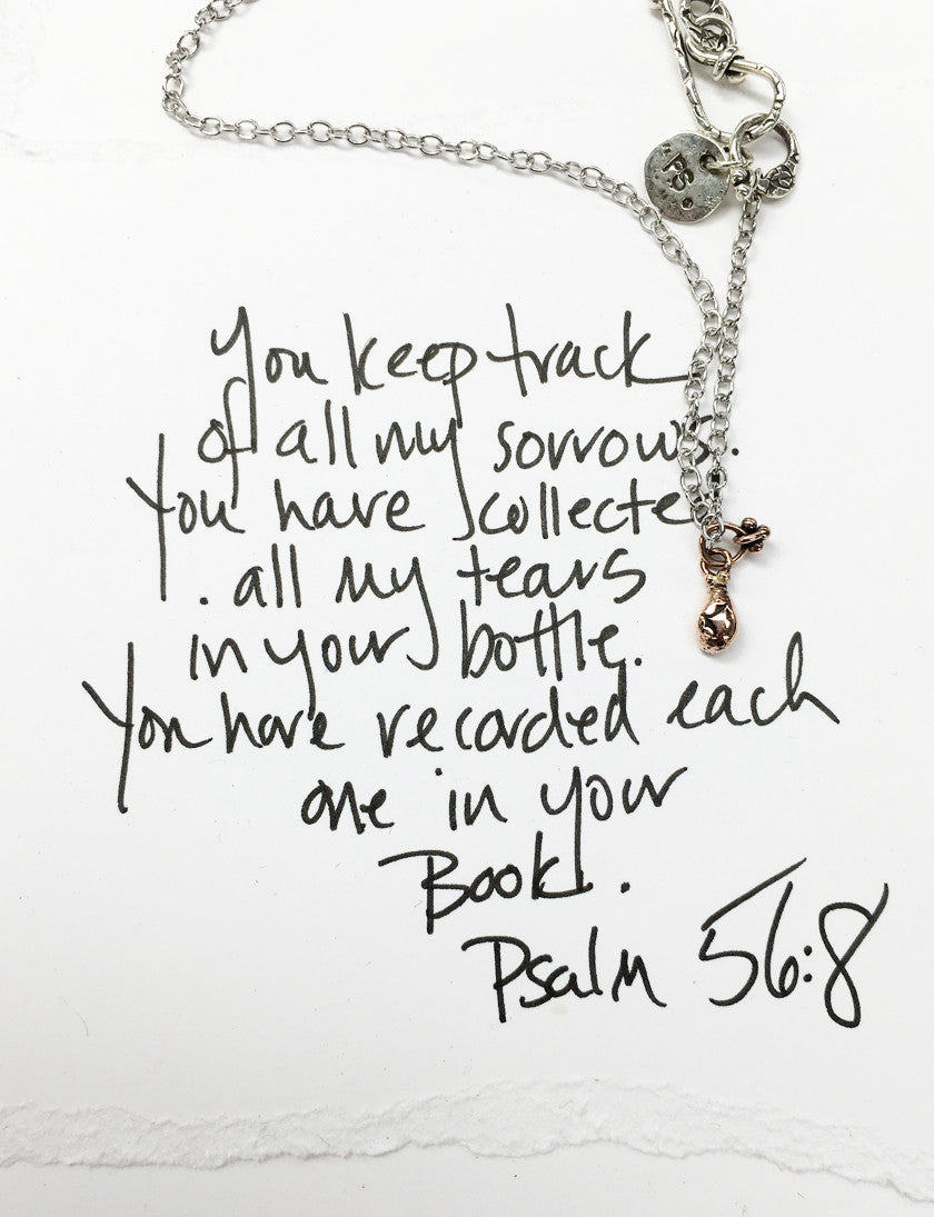 NCH235 | Jesus Tear Necklace