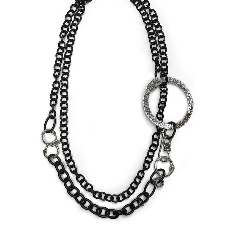 NCH280B | CHAIN NECKLACE WITH AN EDGE