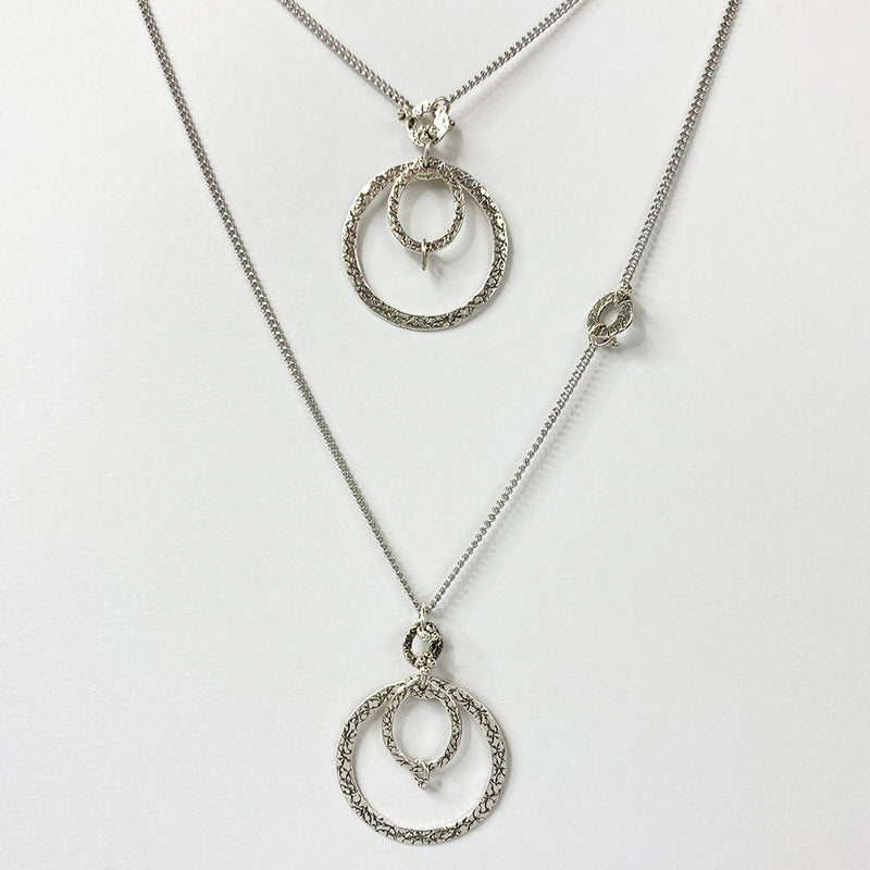 NCHLO9B | DOUBLE WING NECKLACE