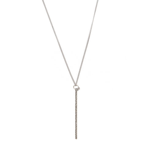 NCHS4B | STERLING STICK NECKLACE